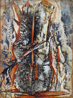 """Bark Study 1"" by Cheryl A. Richey"