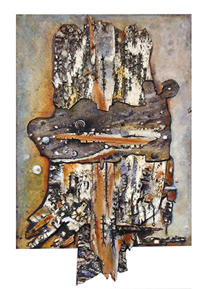 """Bark Study 2 - SOLD"" by Cheryl A. Richey"