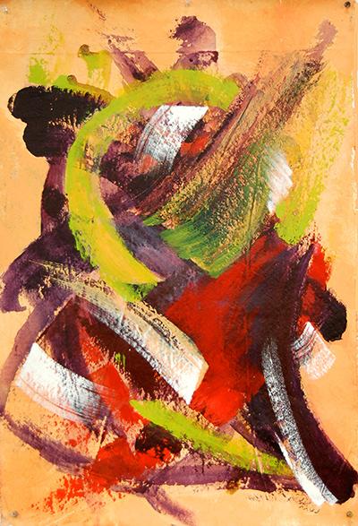 """""""Tango - Size: 25"""" x 36"""" by Raquel Dimond"""