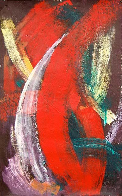 """""""Taurus - Size: 21"""" x 32"""" by Raquel Dimond"""