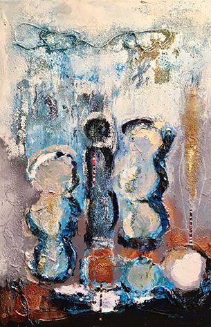 """""""The Blues III"""" by Margo Spellman"""