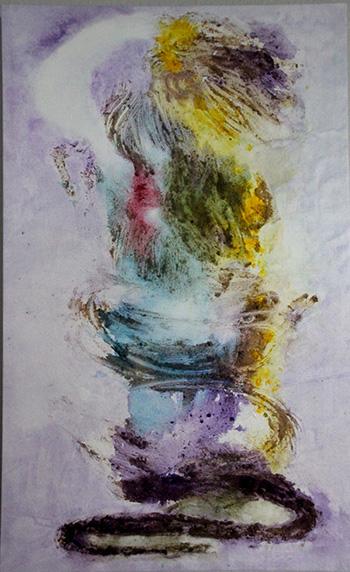 """""""Whirling Spirit - 25'""""x 38"""" by Maggie MacIndoe"""